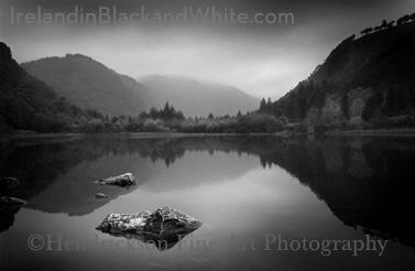 Glendalough photo of Irish landscape
