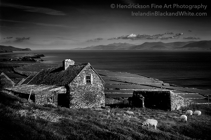 Famine Cottage, Dingle Peninsula by Barry Hendrickson @Hendrickson Fine Art Photography