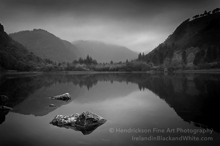 Glendalough irish landscape photo by Barry Hendrickson