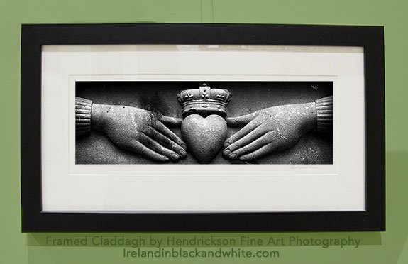 Claddagh framed by Hendrickson Fine Art Photo